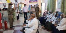{عمليات تفتيش» في المستشفيات لتقييم  اجراءات السلامة