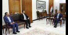 القضاء وشبكة الاعلام العراقي يبحثان نشر الثقافة القانونية