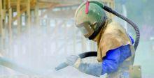 العصفُ الرمليُّ طريقةٌ لإعادة تأهيل المعدات الصناعيَّة