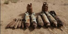 ضبط صواريخ طائرات بالأنبار ونشر أحزمة أمنية في ديالى