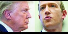 فيسبوك يعلق حساب ترامب لعامين