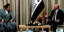 بغداد وطهران تبحثان تطوير العلاقات الثنائية
