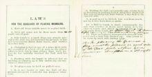 بيع أول نسخة من كتاب قوانين كرة القدم في لندن