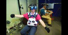 السير في الفضاء من خلال الواقع الافتراضي