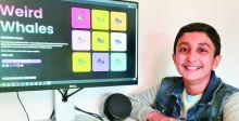 عبر الإنترنت.. طفل يجمع 300 ألف دولار من بيع لوحات فنية