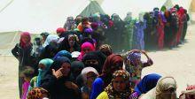 في كركوك  ناشطات يطلقن حملة لمساعدة النازحات