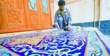 الكاشي الكربلائي.. لغة جماليَّة في البناء