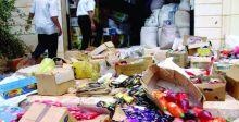 مواطنون يشكون من انتشار المواد الغذائية التالفة في البلاد
