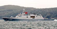 مواجهة بين فرقاطة تركية  وسفينة يونانية