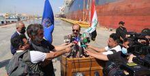 افتتاح رصيف جديد في ميناء خور الزبير لتصدير المنتوجات النفطية