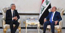 وزير الخارجية يبحث العلاقات بين بغداد وبرلين