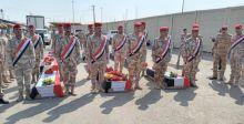 الدفاع تتسلّم عدداً من رفات الشهداء العراقيين