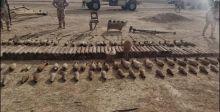مداهمات مباغتة تضبط مصنعاً للقذائف وتدمِّر مخابئ لداعش