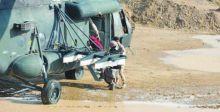 مروحيات تنقذ عوائل محاصرة بمياه السيول في واسط
